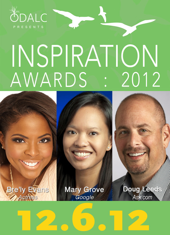 3rd annual inspiration awards 2012 honoring bre u0026 39 ly evans