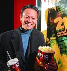 Yuchun Lee at movie based on Blackjack