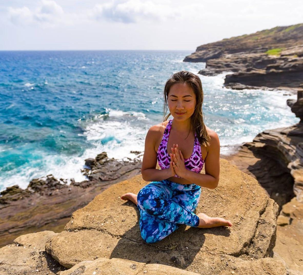 Chrystal Pearl Yogathon