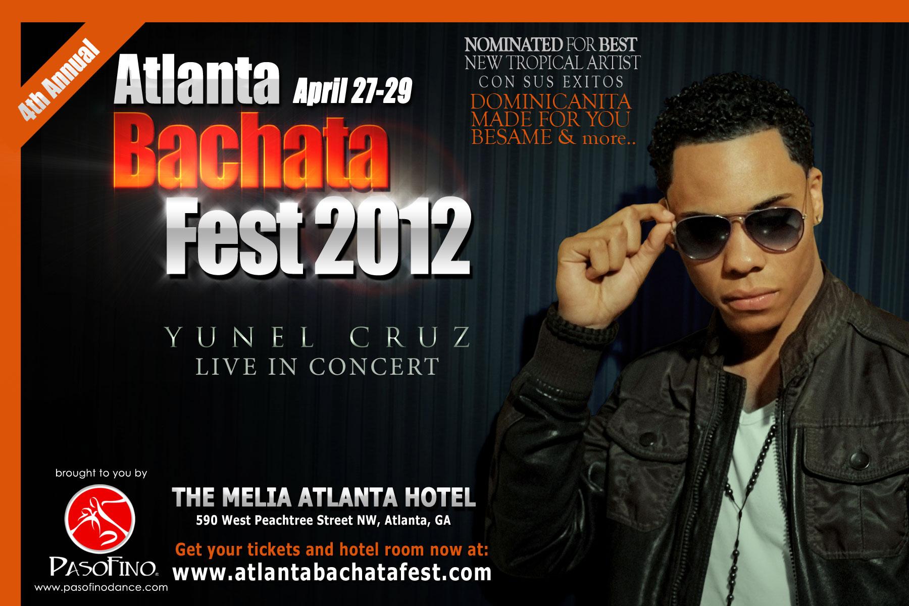 Yunel Cruz at the AtlantaBachataFest.com