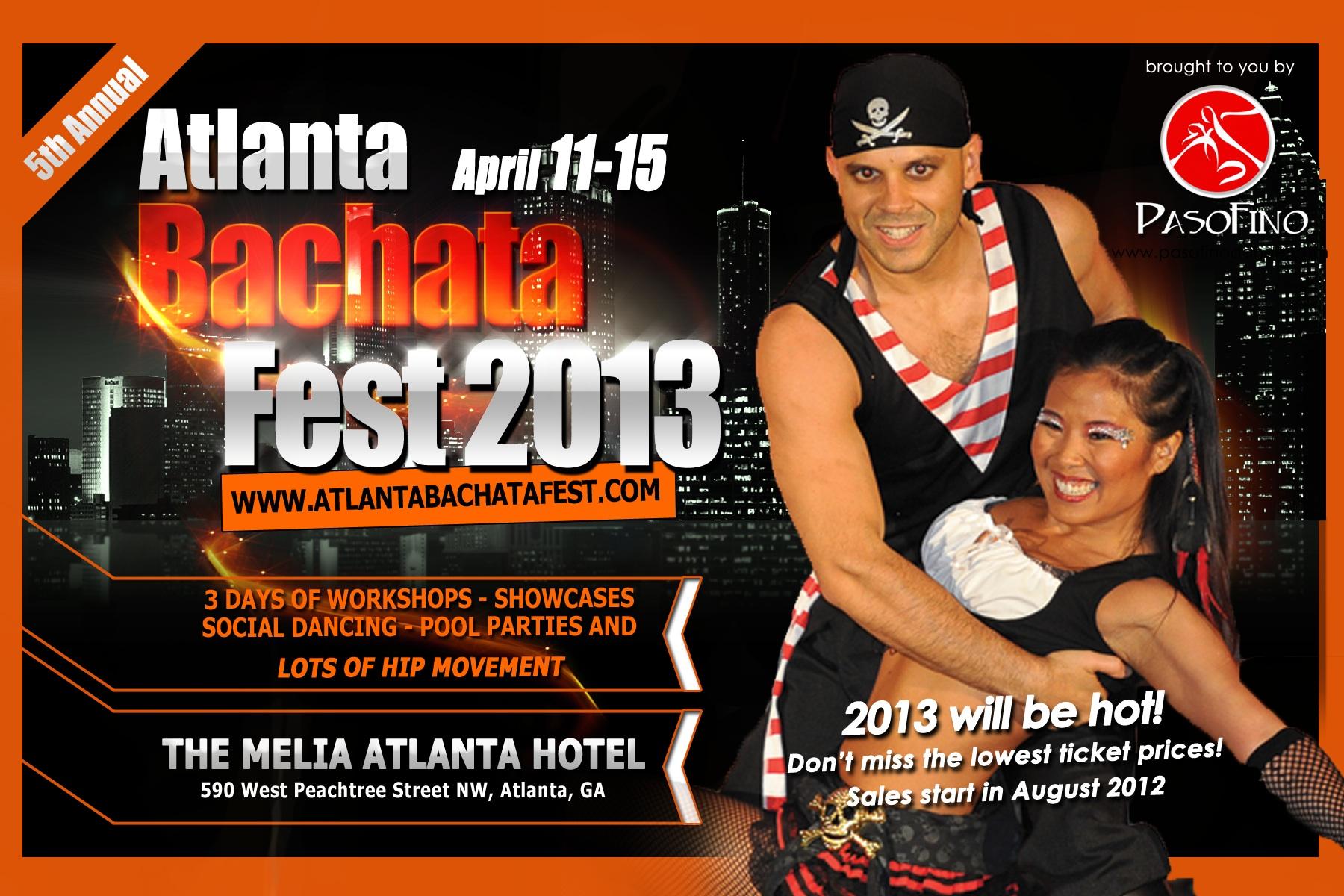 PasoFino Atlanta Bachata Festival 2013
