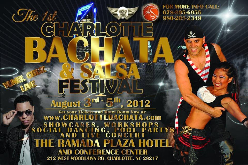 Charlotte Bachata & Salsa Fest - Aug 3-5, 2012