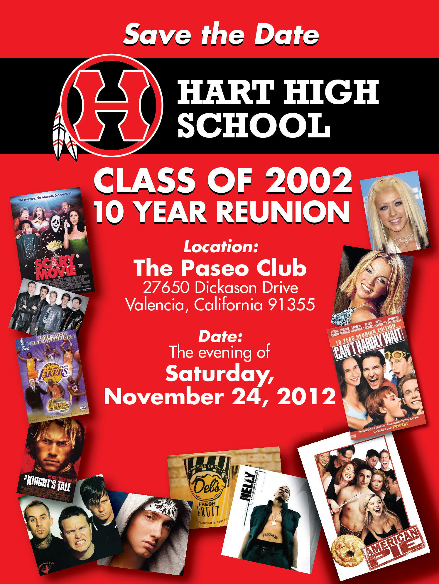 Hart HS Save the Date