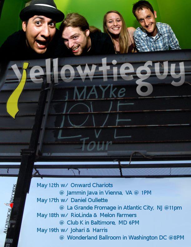 MAYke Love Tour Poster