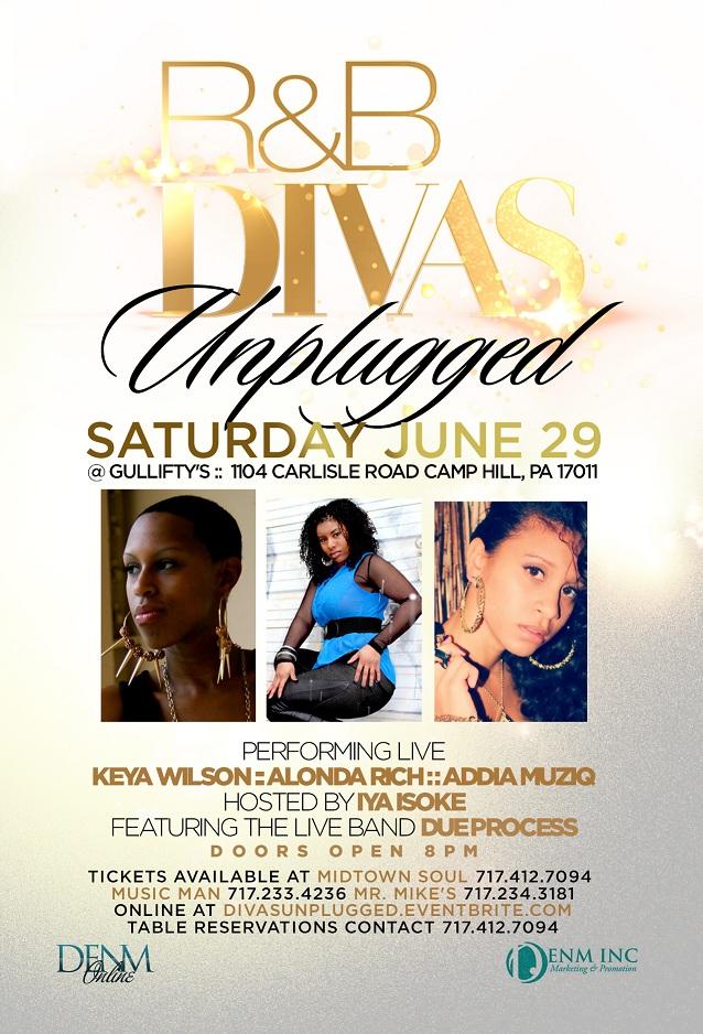 R&B Divas Unplugged