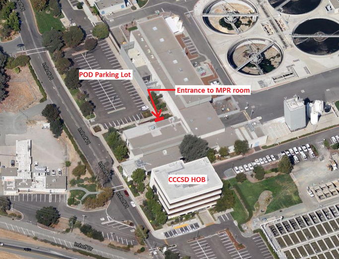 Location of Event at CCCSD