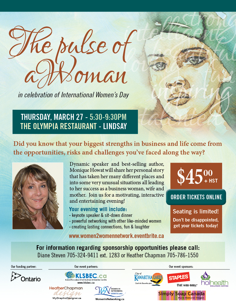 The Pulse of a Woman Flyer