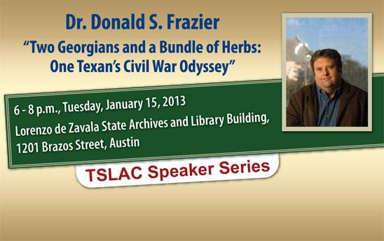 Dr. Donald S. Frazier