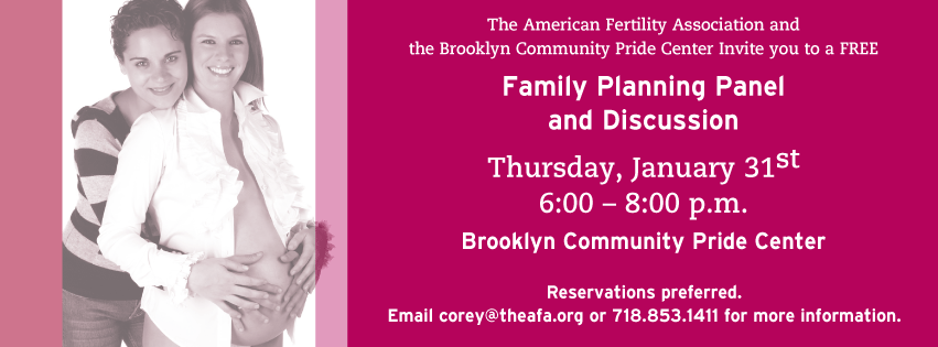 Family Planning Event Banner