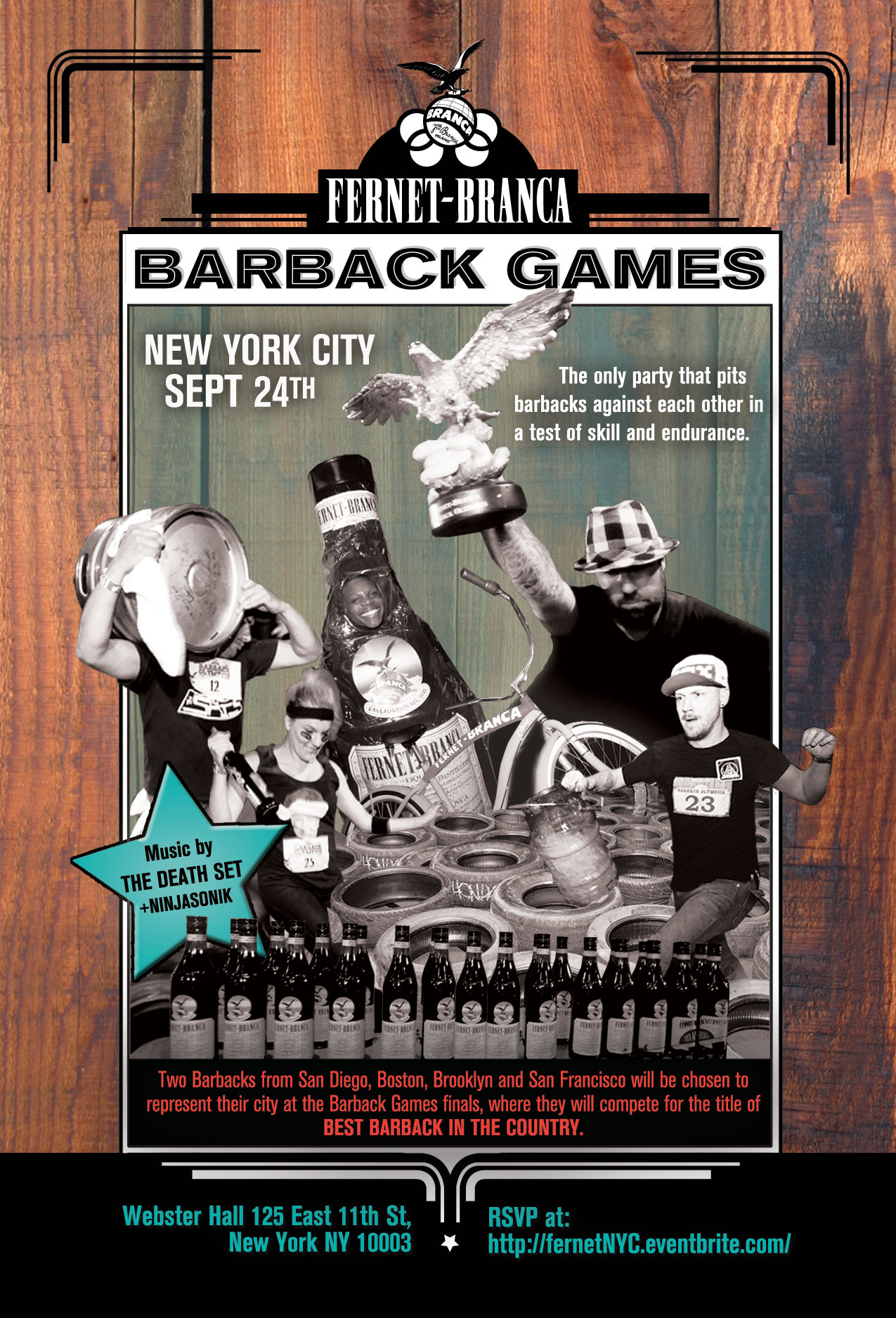 Fernet Barback Games - NYC FLYER