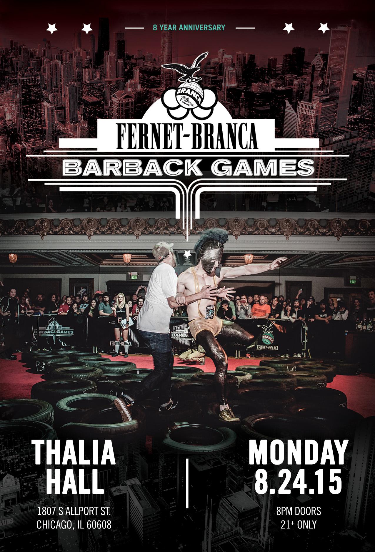 fernet-branca barback games 2015 - chicago tickets, mon, aug 24