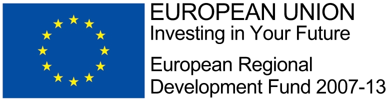 European Union: Investing In Your Future. European Regional Development Fund