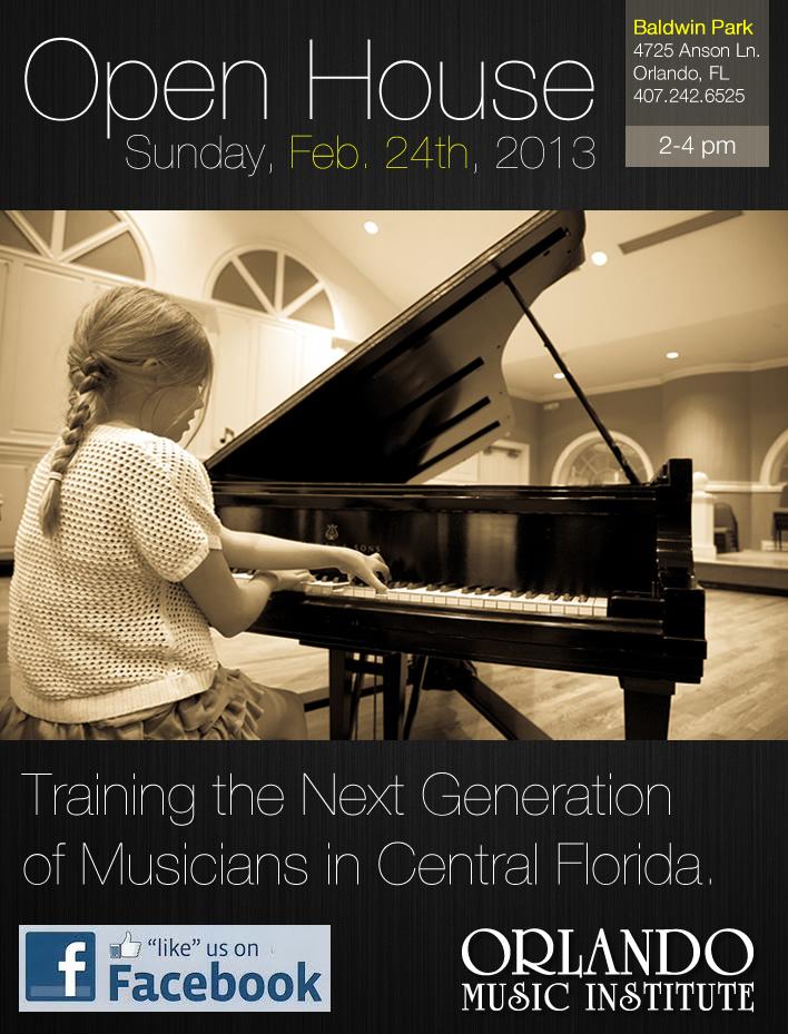 Music School Open House