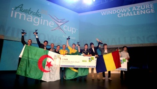 Klein Team at Imagine Cup