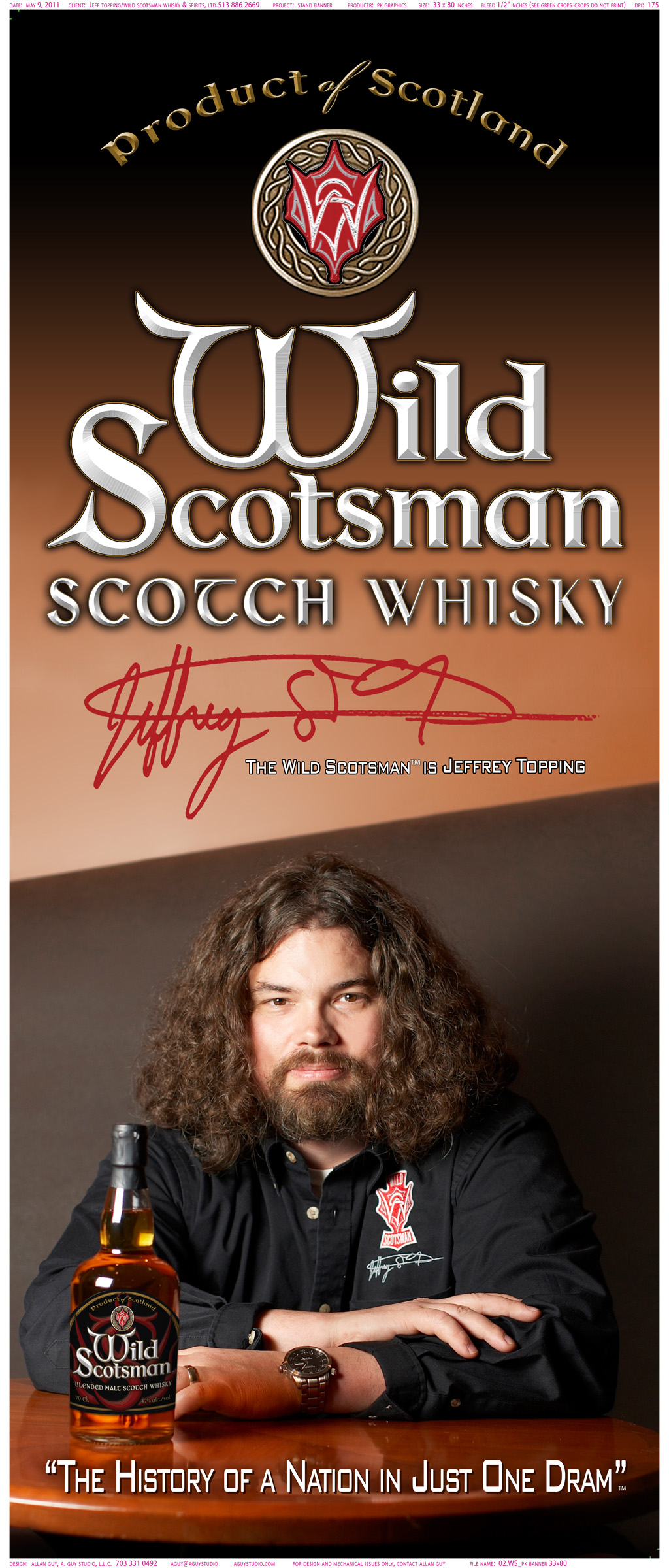 Wild Scotsman Whisky