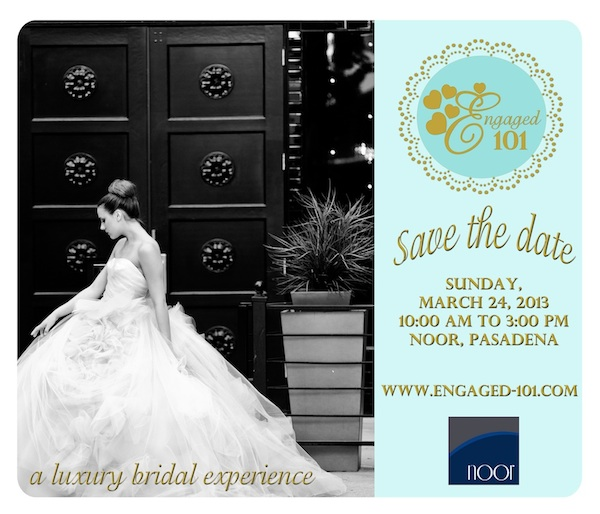 Save the date Engaged 101