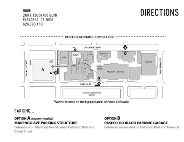 Noor Parking Instructions