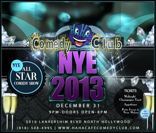 Ha Ha Cafe NYE All Star