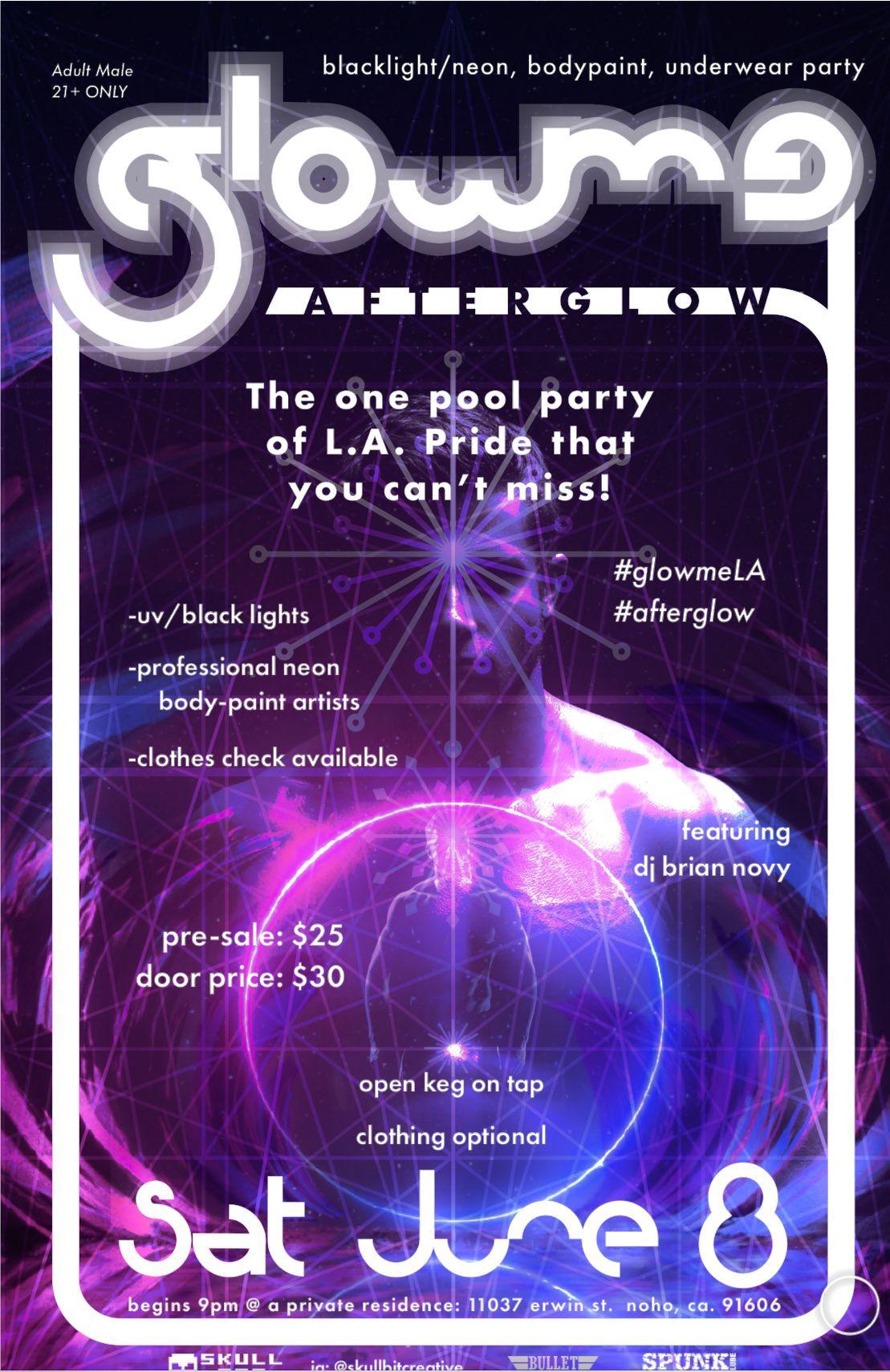 Glow me la pride party