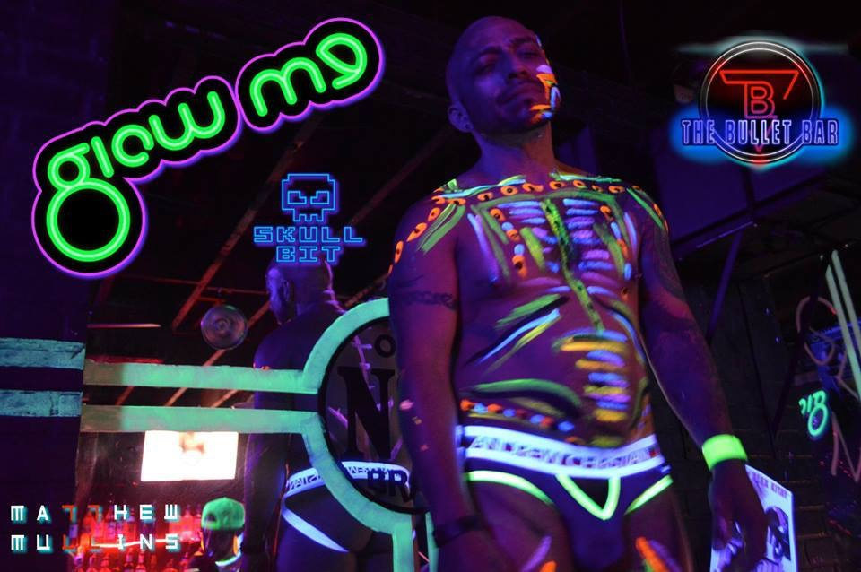 Glow me play party glow paint example