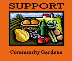 Lunch Engagement: Support Community Gardens