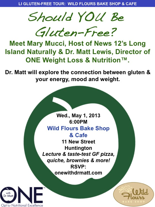 Should You Go Gluten Free - ONE wit Dr. Matt Seminar