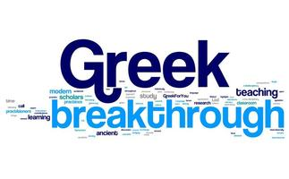 Breakthrough Greek - International Symposium on Teaching and...