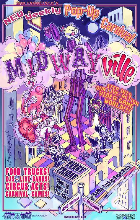 Midwayville Launches in SF