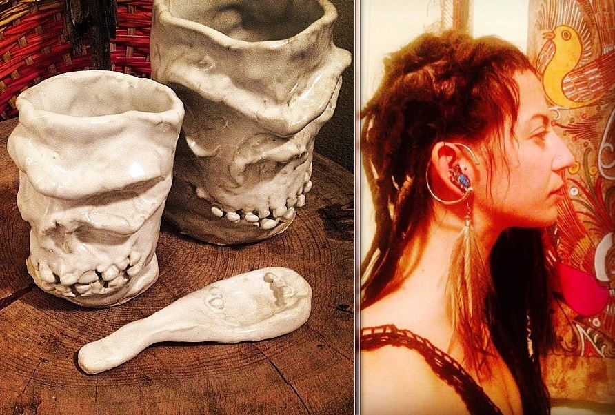Jena Gatto's Amazing Skull Mugs up for Auction