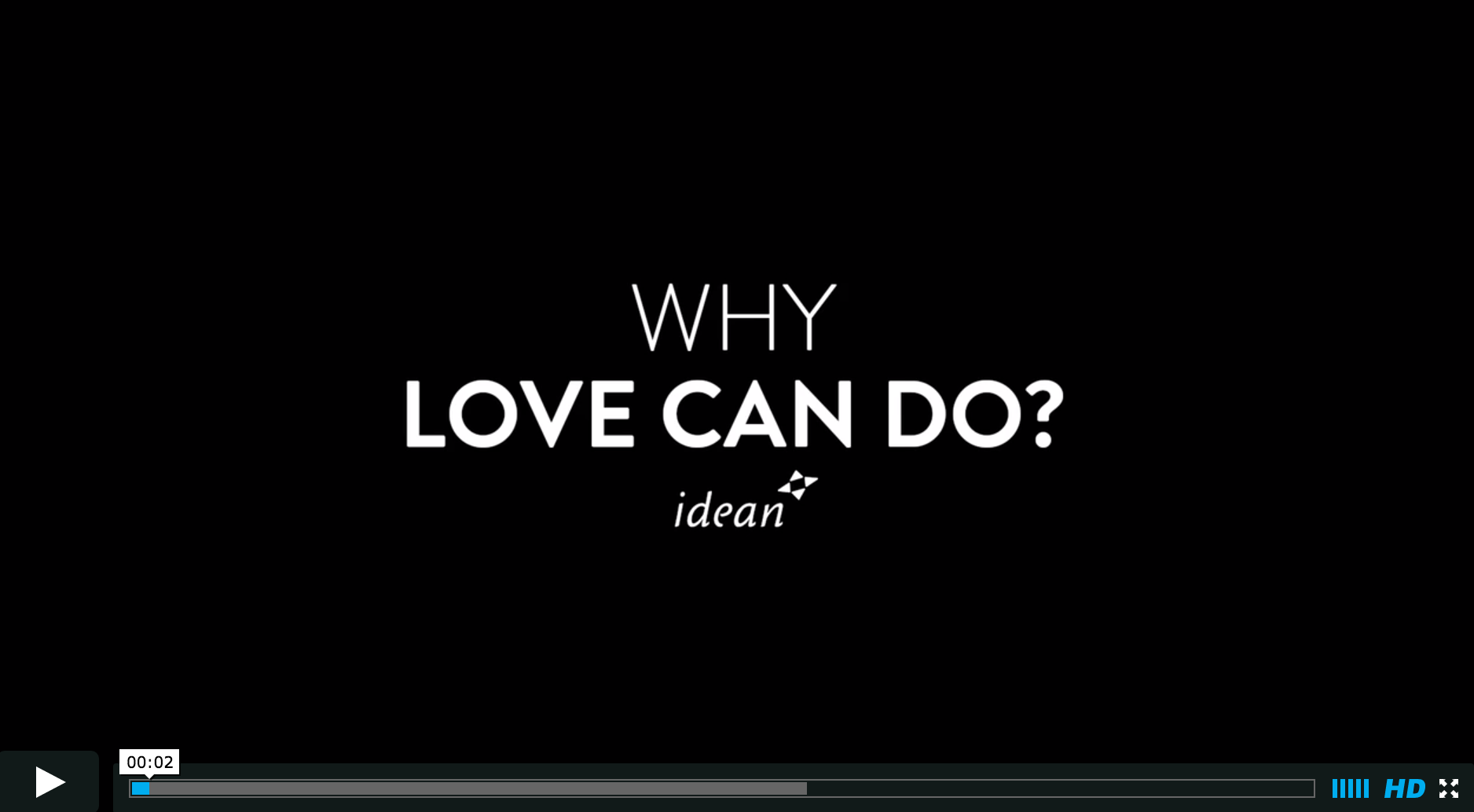 Why Love Can Do