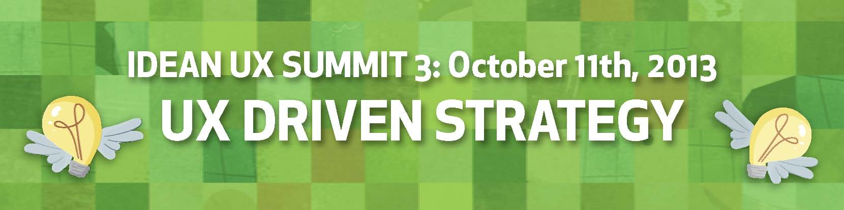 UX Summit 3 Header