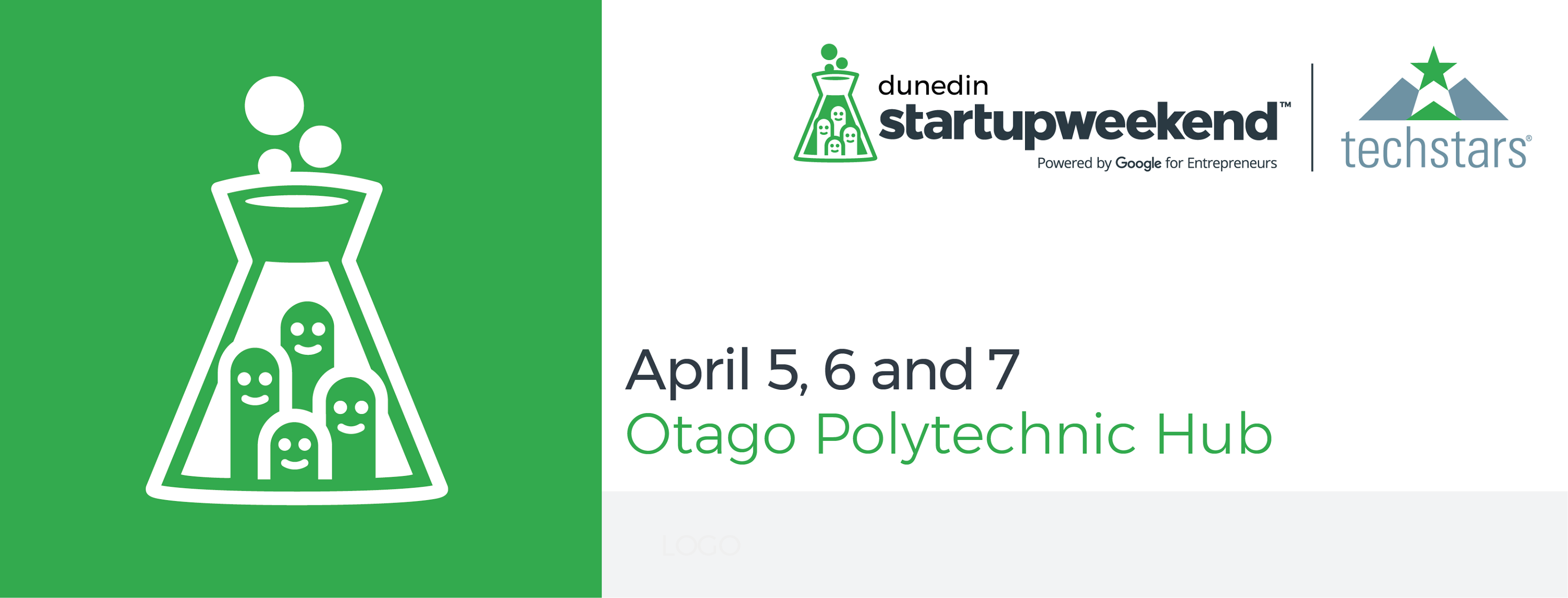 Startup Weekend Cover Image with Details