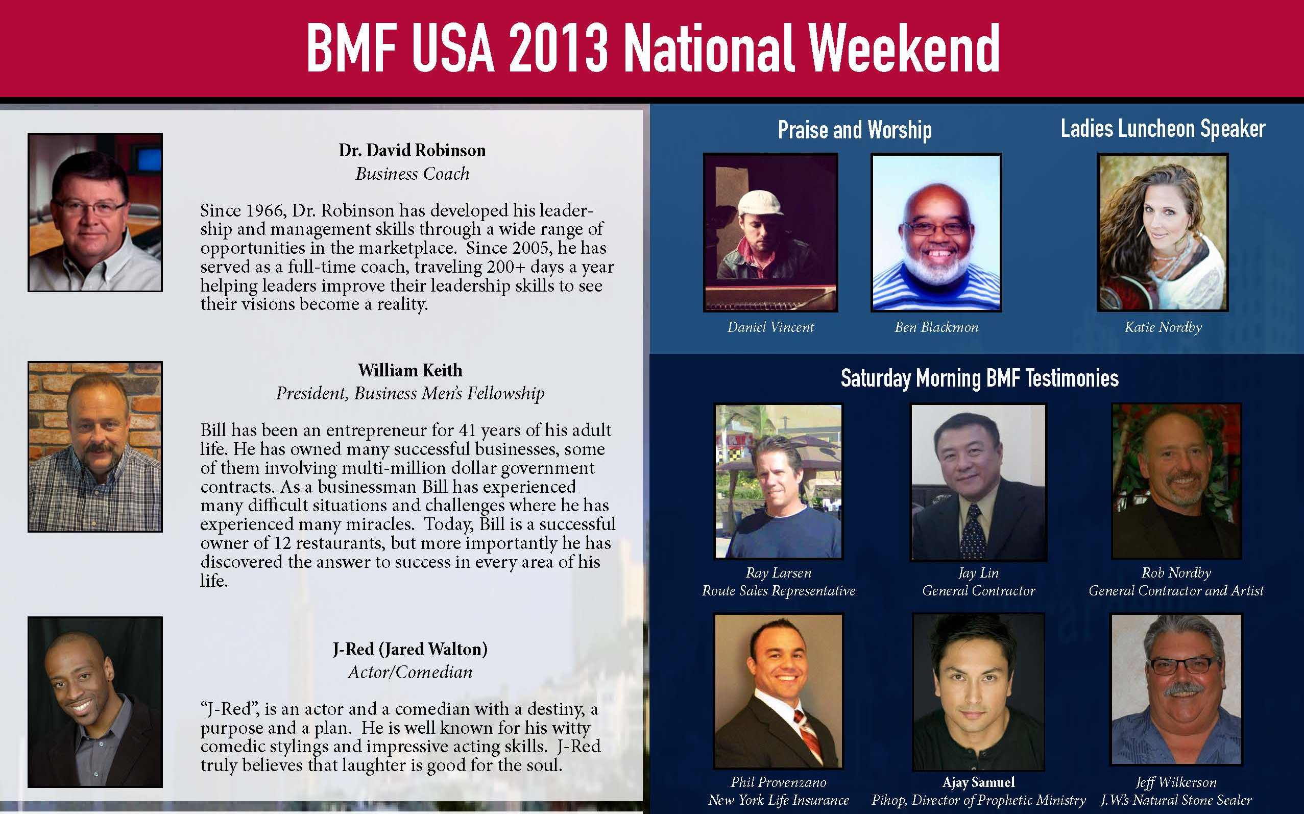 2013 National Weekend