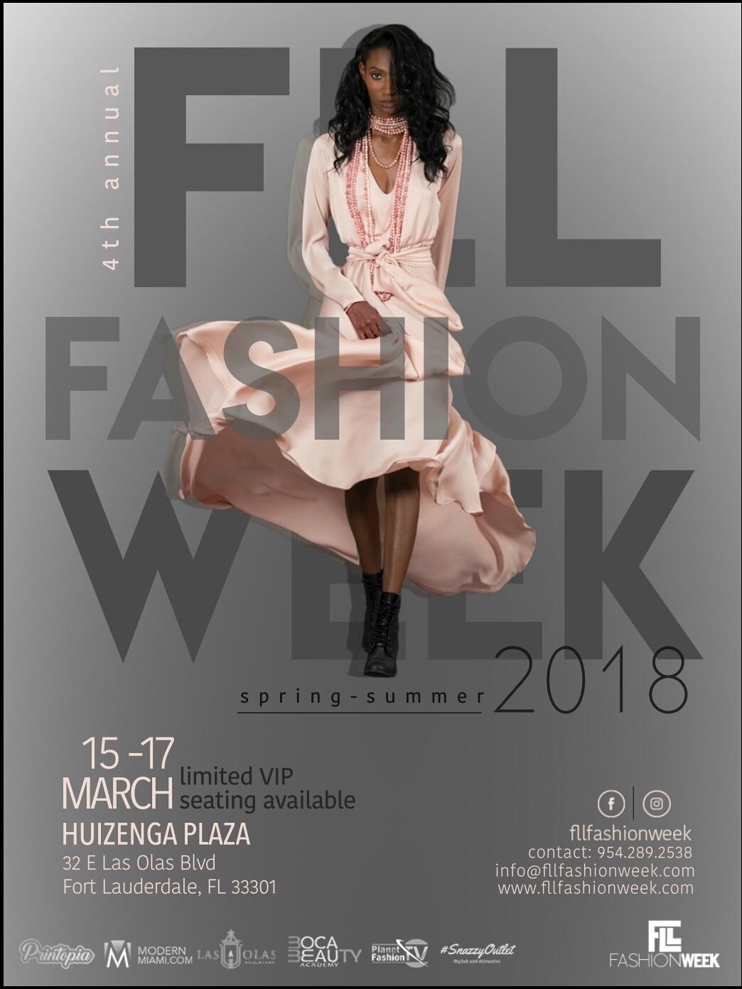 Fll Fashion Week March 15 17 2018 Tickets Thu Mar 15