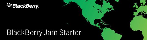 BlackBerry Jam Starter banner