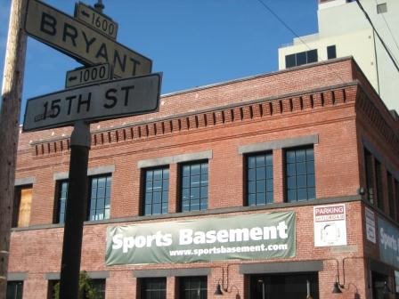 Sports Basement Bryant Street