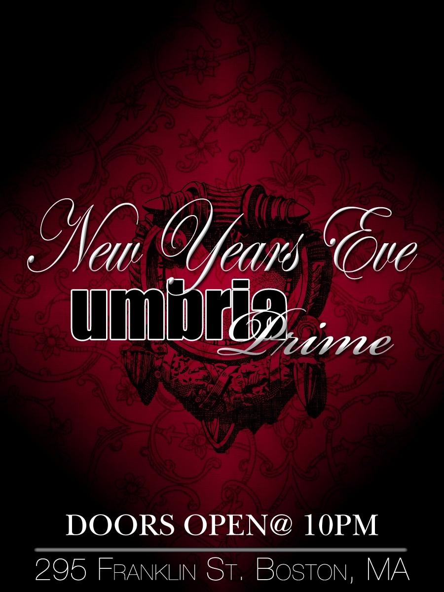 NYE @ UMBRIA 2011