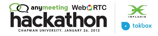 AnyMeeting WebRTC Hackathon Banner
