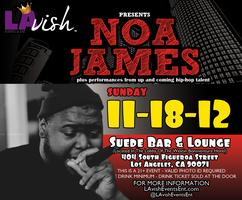 NOA JAMES Live @ the Suede Bar & Lounge