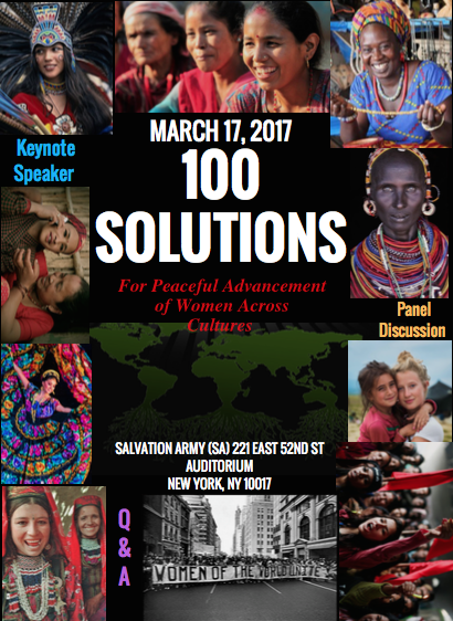 100 Solution event flyer march 17 2017