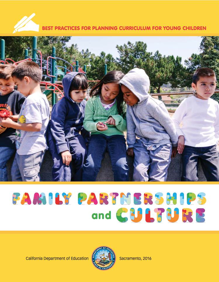 Image of the Cover for the publication Family Partnerships and Culture