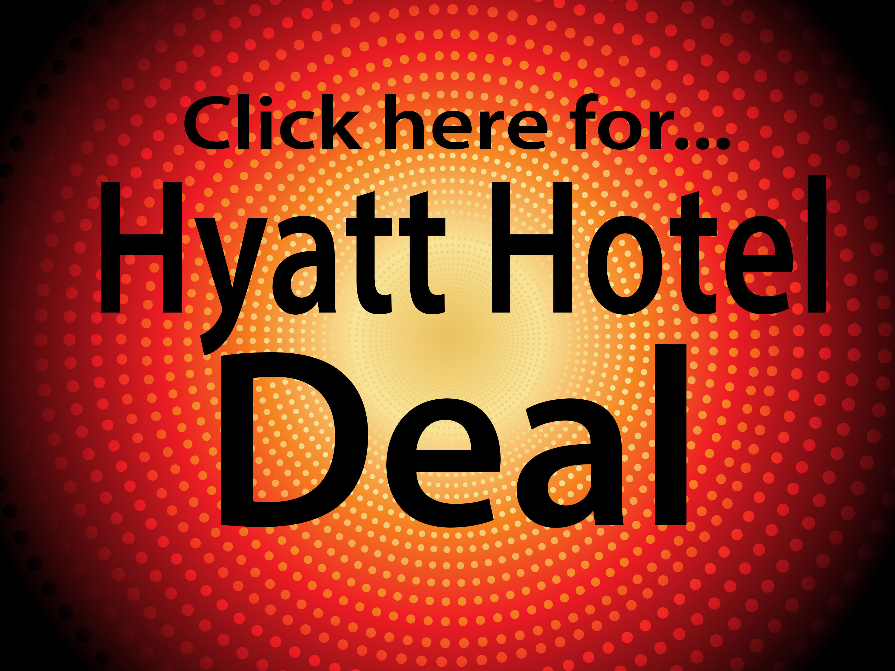 New Year's Eve Party Hyatt Hotel Room Deal