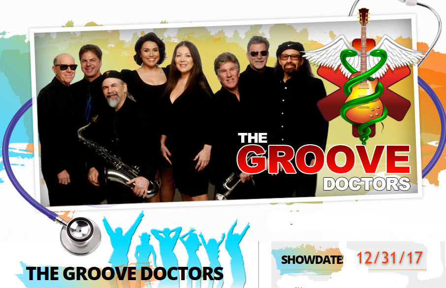 Groove Doctors Party Dance Band for New Year's