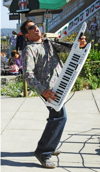 New Year's Eve Keytar Player Kevin K