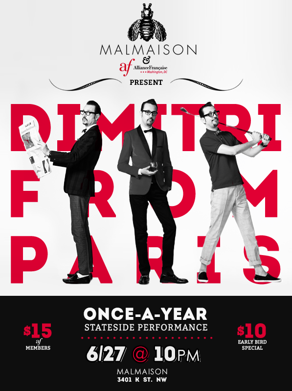 Dimitri from Paris poster.