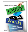Book cover: Letting Go of the Words