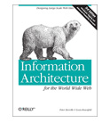 Book cover: Information Architecture for the World Wide Web