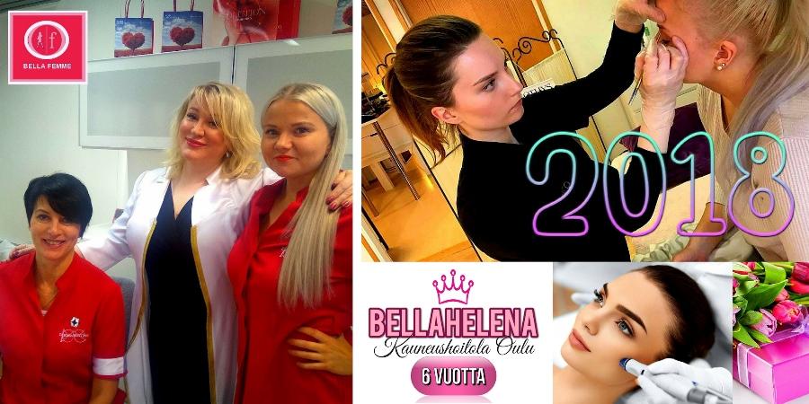 Kauneushoitola BellaHelena 6 Vuotta Promokuva 3
