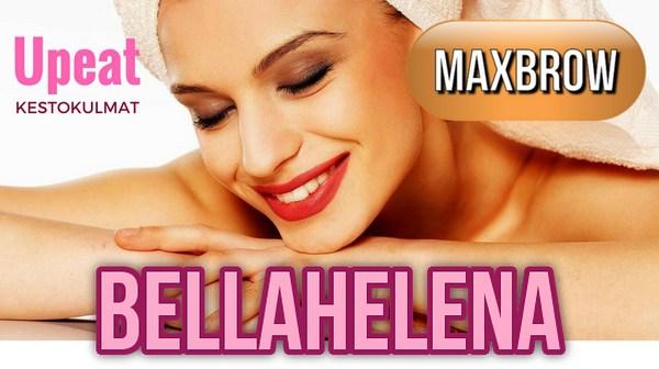 MaxBrows Kestokulmat BellaHelenasta