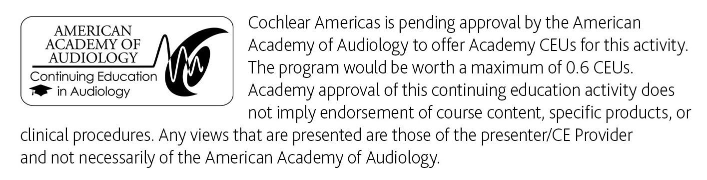 Americal Academy of Audiology logo
